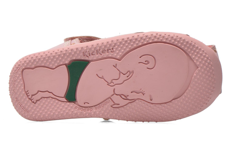 Sandaler Kickers Biggy Pink se foroven