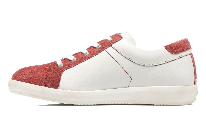 Sneaker Kickers Hameri weiß ansicht von vorne