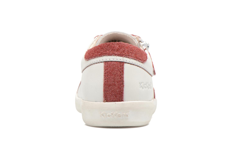 Sneaker Kickers Hameri weiß ansicht von rechts