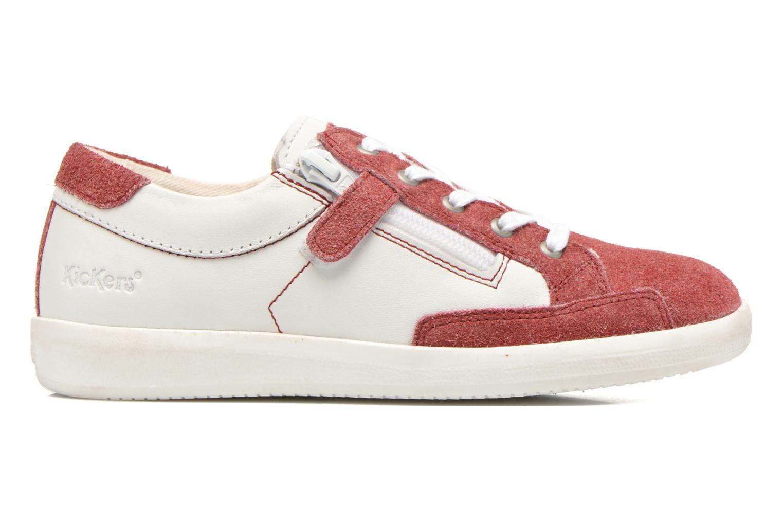 Sneaker Kickers Hameri weiß ansicht von hinten