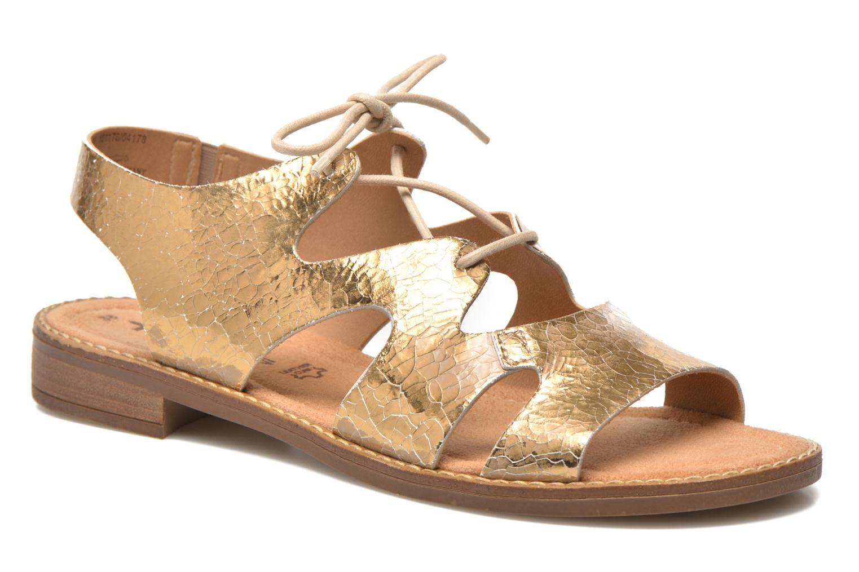 58d511414e1bcb Sandalen Tamaris Idoya gold bronze detaillierte ansicht modell