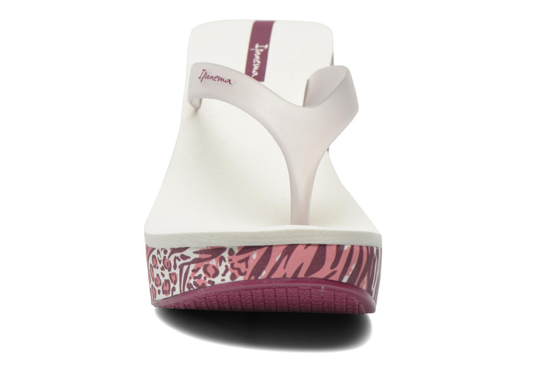 Lipstick Thong White/Purple/White