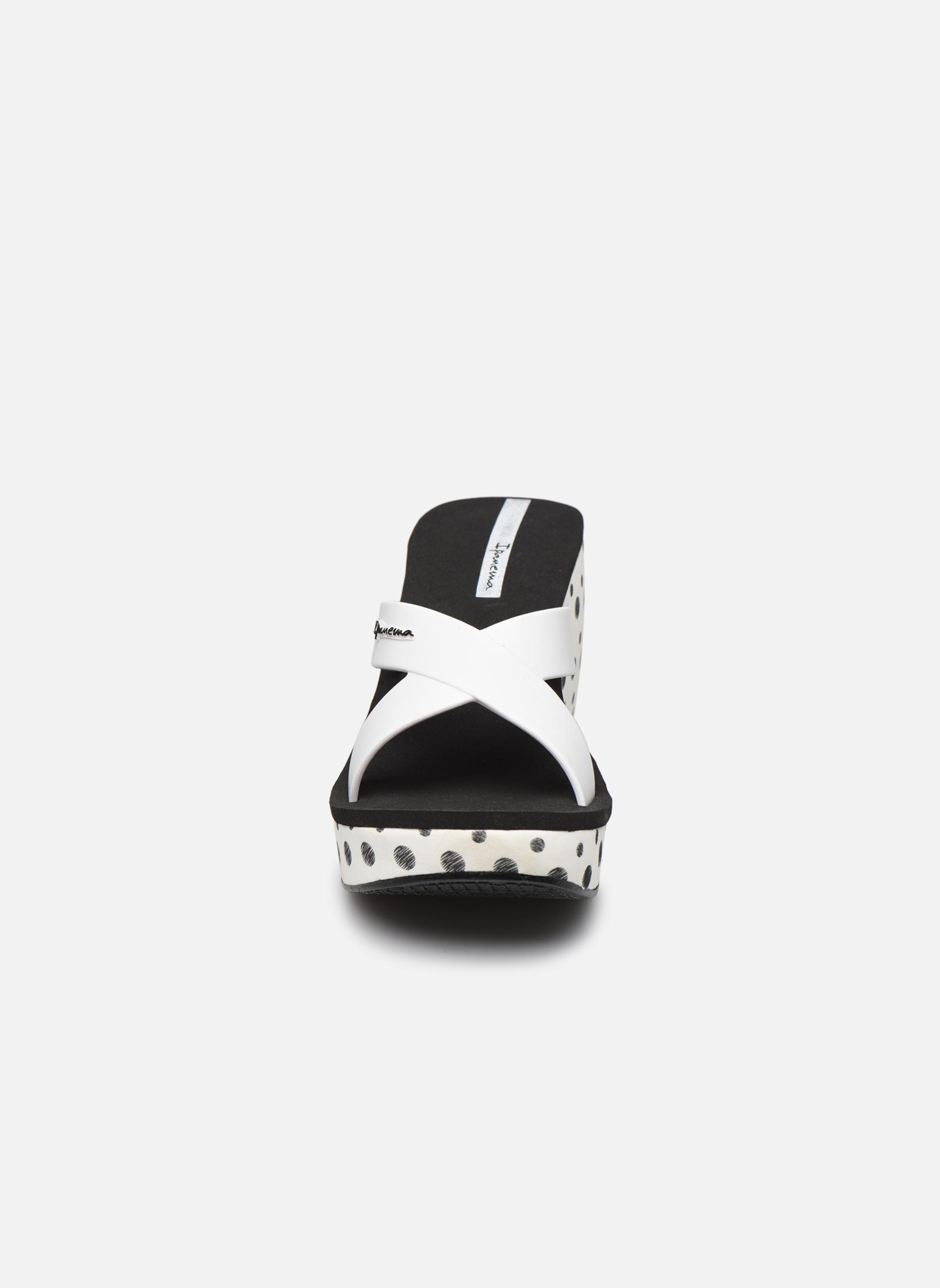 Clogs & Pantoletten Ipanema Lipstick Straps II weiß schuhe getragen