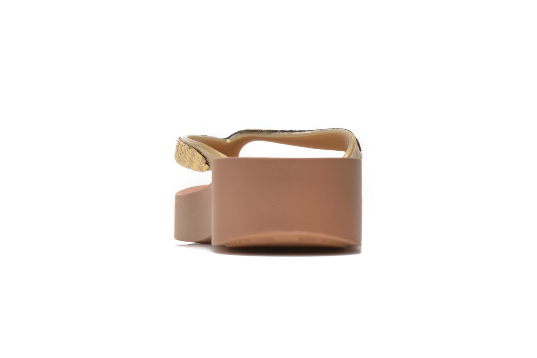 Mesh Plat Brown/Gold