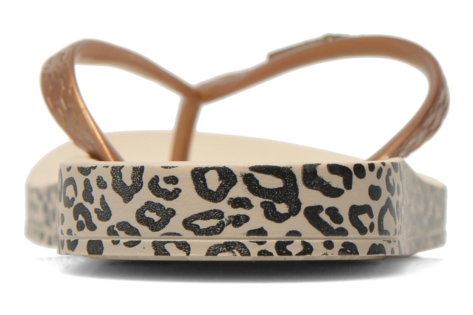 Flip flops Ipanema Anatomica Soft Bronze and Gold view from the right