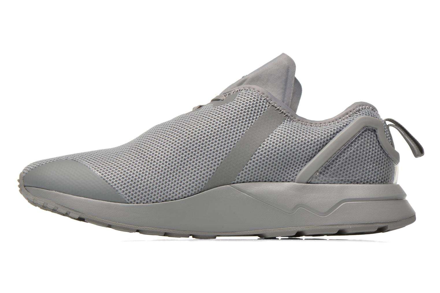 Trainers Adidas Originals Zx Flux Adv Asym Grey front view