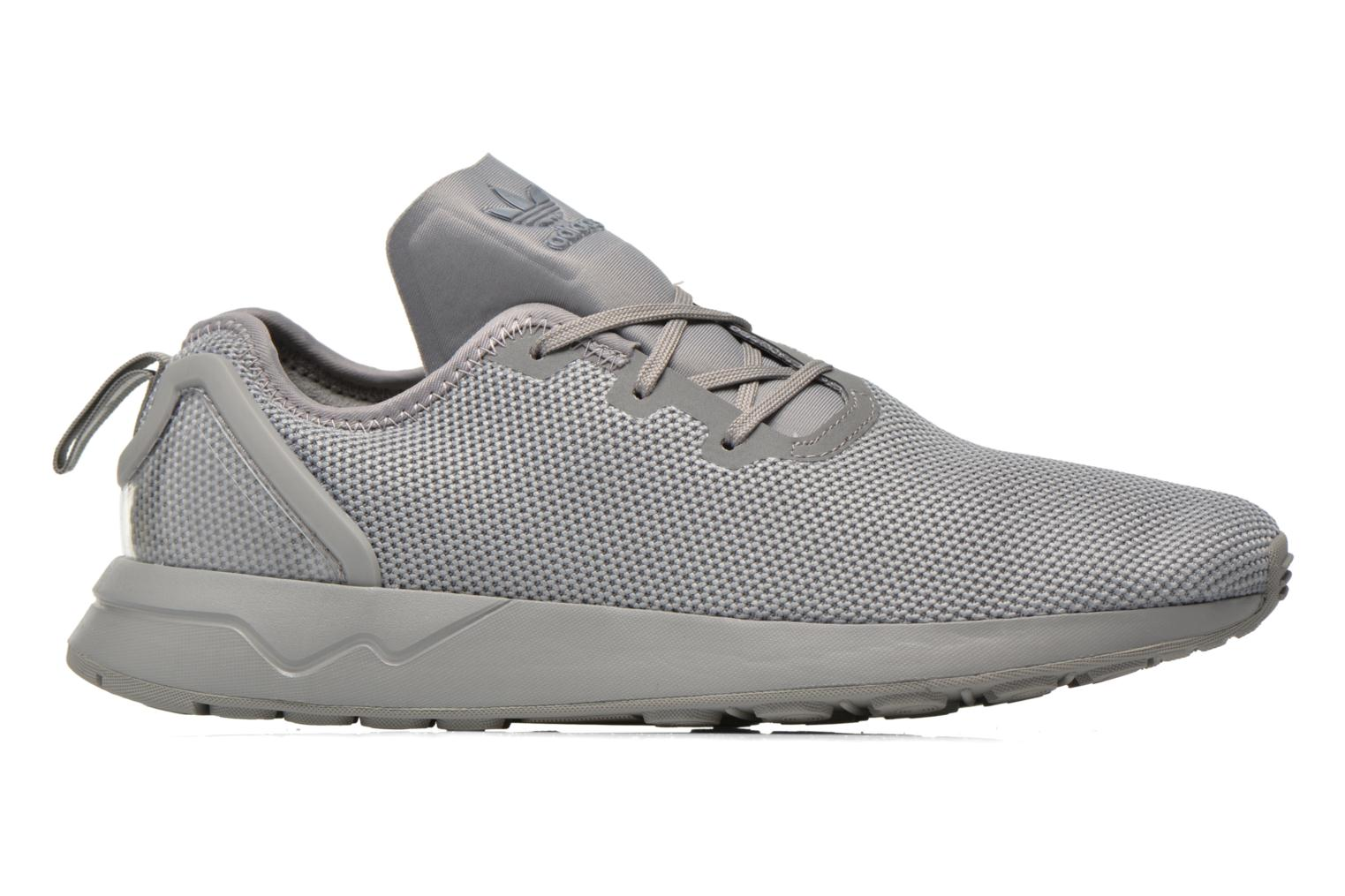 Trainers Adidas Originals Zx Flux Adv Asym Grey back view