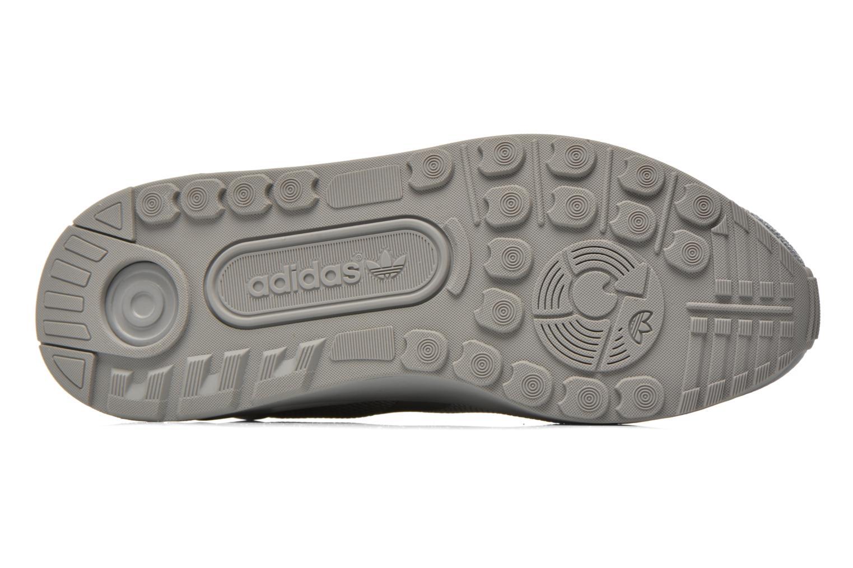 Baskets Adidas Originals Zx Flux Adv Asym Gris vue haut
