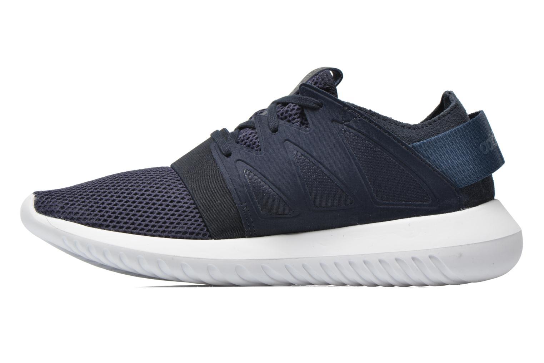 Deportivas Adidas Originals Tubular Viral W Azul vista de frente