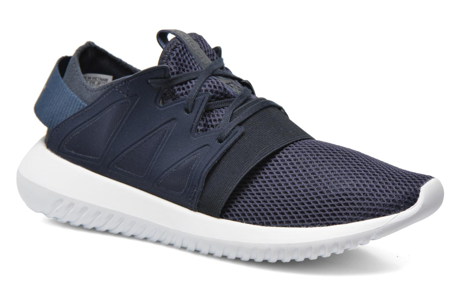 Baskets Adidas Originals Tubular Viral W Bleu vue détail/paire