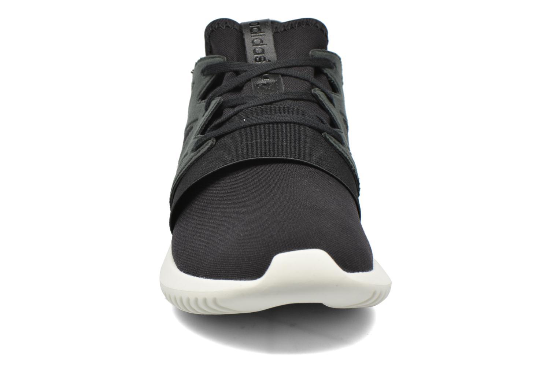 Trainers Adidas Originals Tubular Viral W Black model view