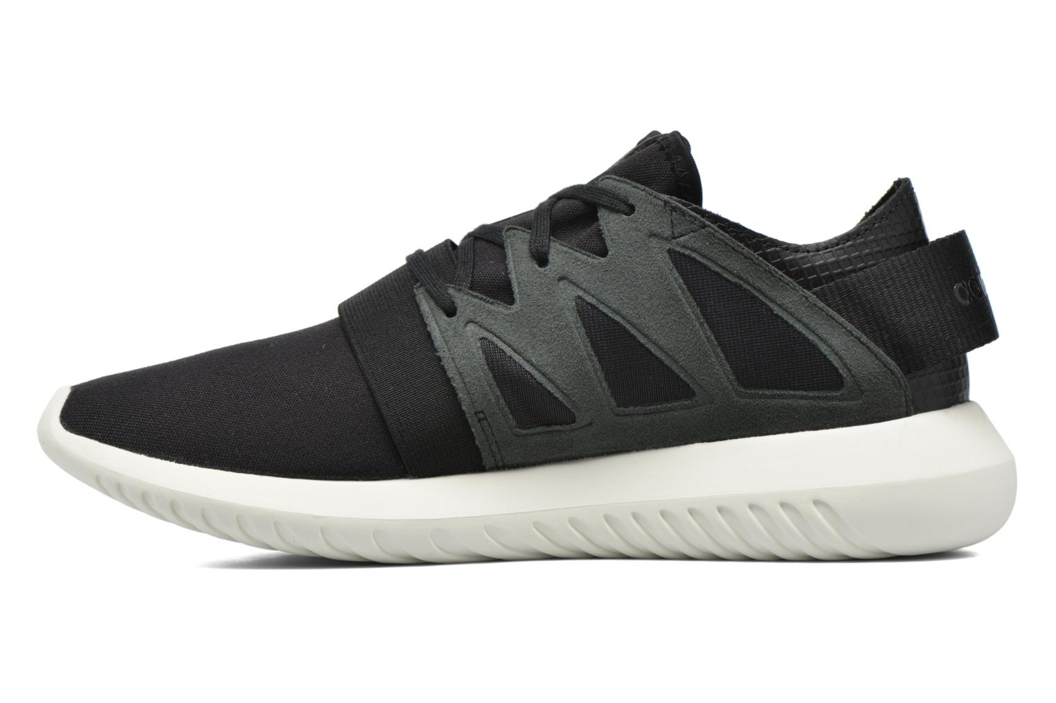 Trainers Adidas Originals Tubular Viral W Black front view