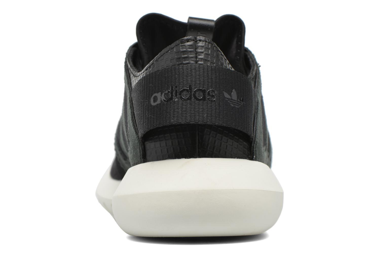 Deportivas Adidas Originals Tubular Viral W Negro vista lateral derecha