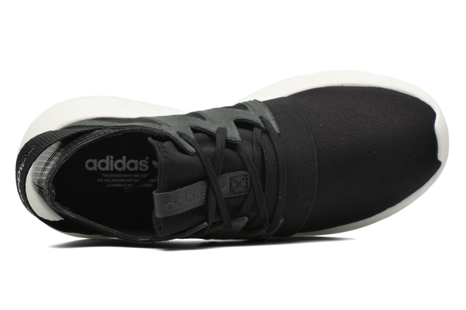 Trainers Adidas Originals Tubular Viral W Black view from the left