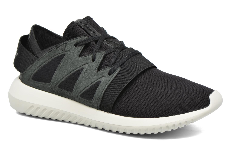 Deportivas Adidas Originals Tubular Viral W Negro vista de detalle / par