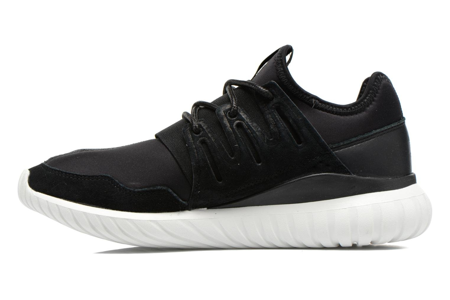 Trainers Adidas Originals Tubular Radial Black front view