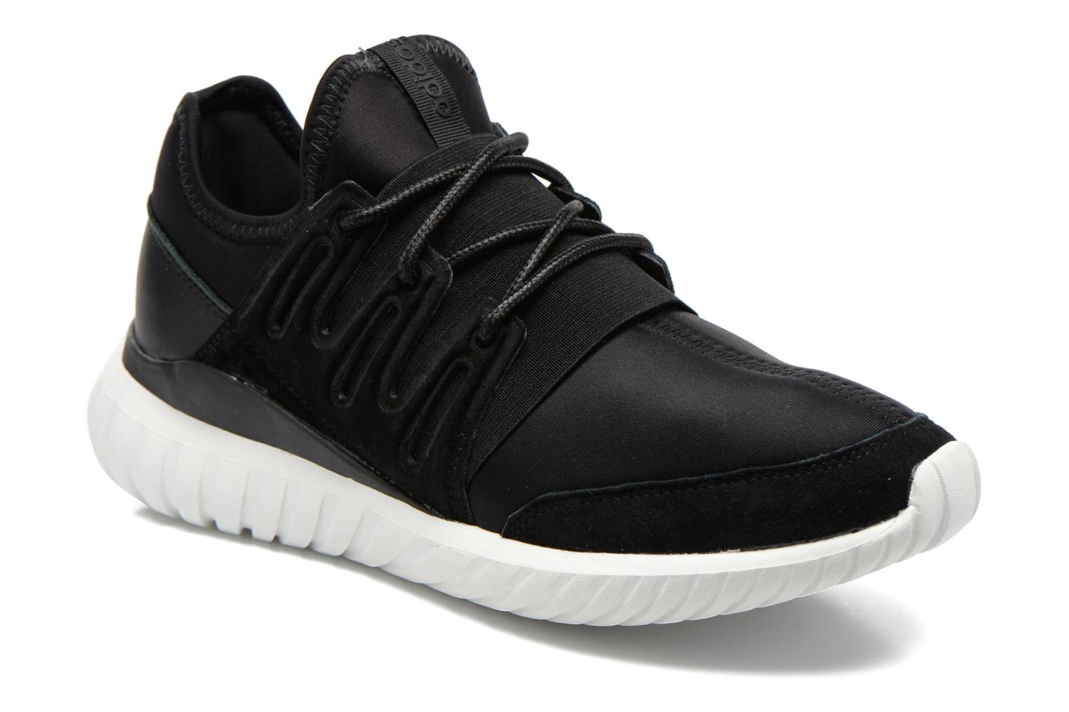 Trainers Adidas Originals Tubular Radial Black detailed view/ Pair view