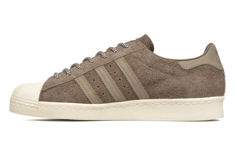 Sneakers Adidas Originals Superstar 80S Grijs voorkant