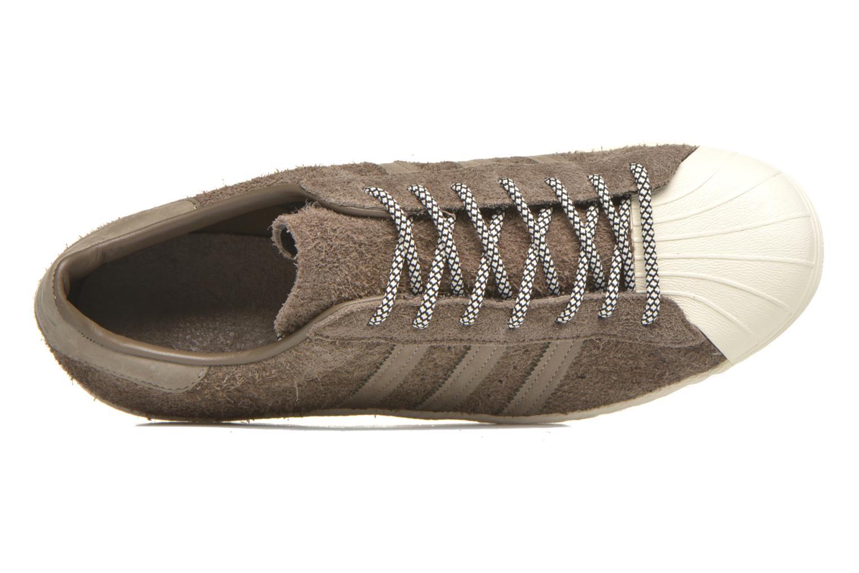 Sneakers Adidas Originals Superstar 80S Grigio immagine sinistra