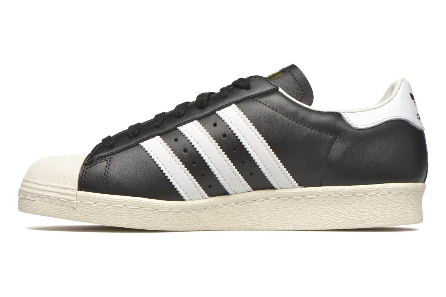 Trainers Adidas Originals Superstar 80S Black front view
