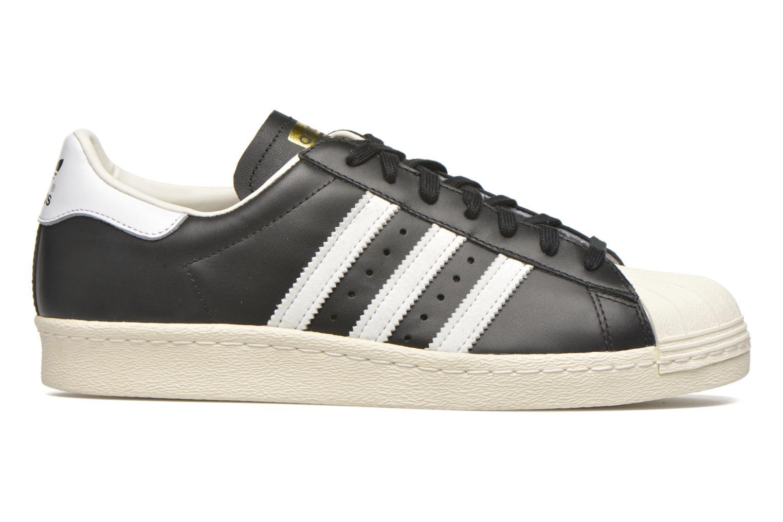 Trainers Adidas Originals Superstar 80S Black back view