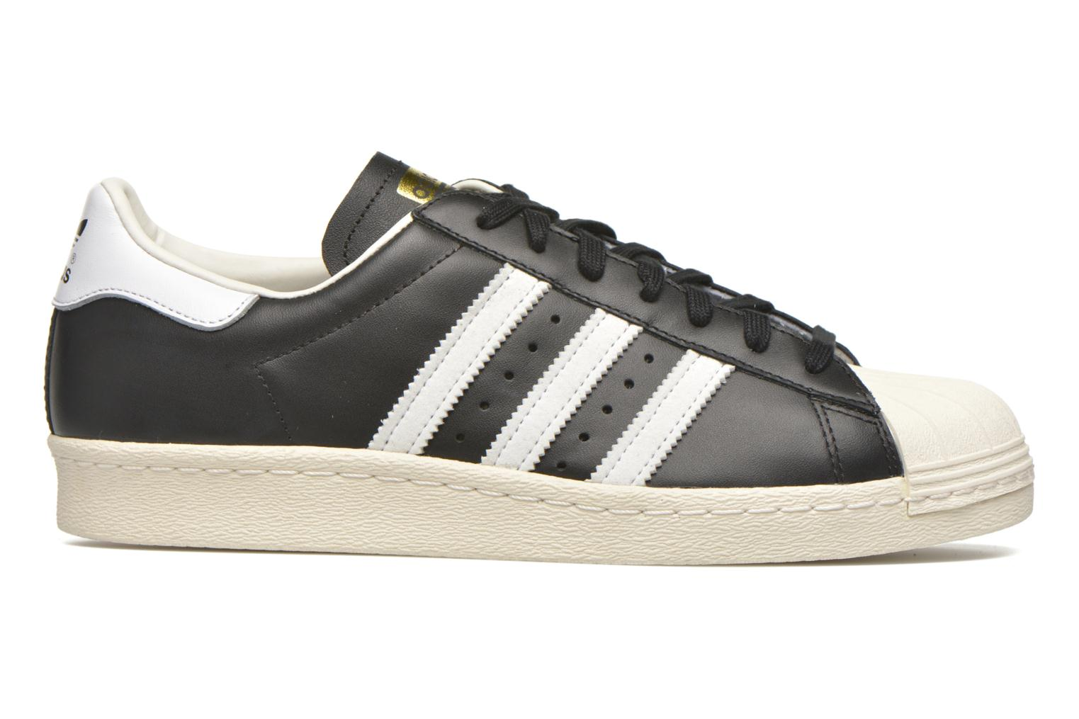 Trainers Adidas Originals Superstar 80S Black back view