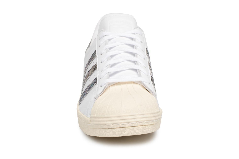 Trainers Adidas Originals Superstar 80S White model view