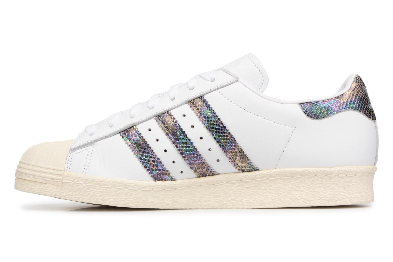 Trainers Adidas Originals Superstar 80S White front view
