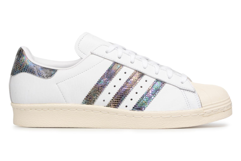 Trainers Adidas Originals Superstar 80S White back view