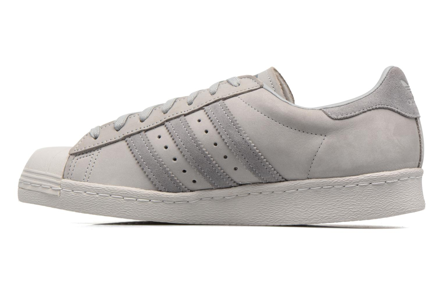 Baskets Adidas Originals Superstar 80S Gris vue face
