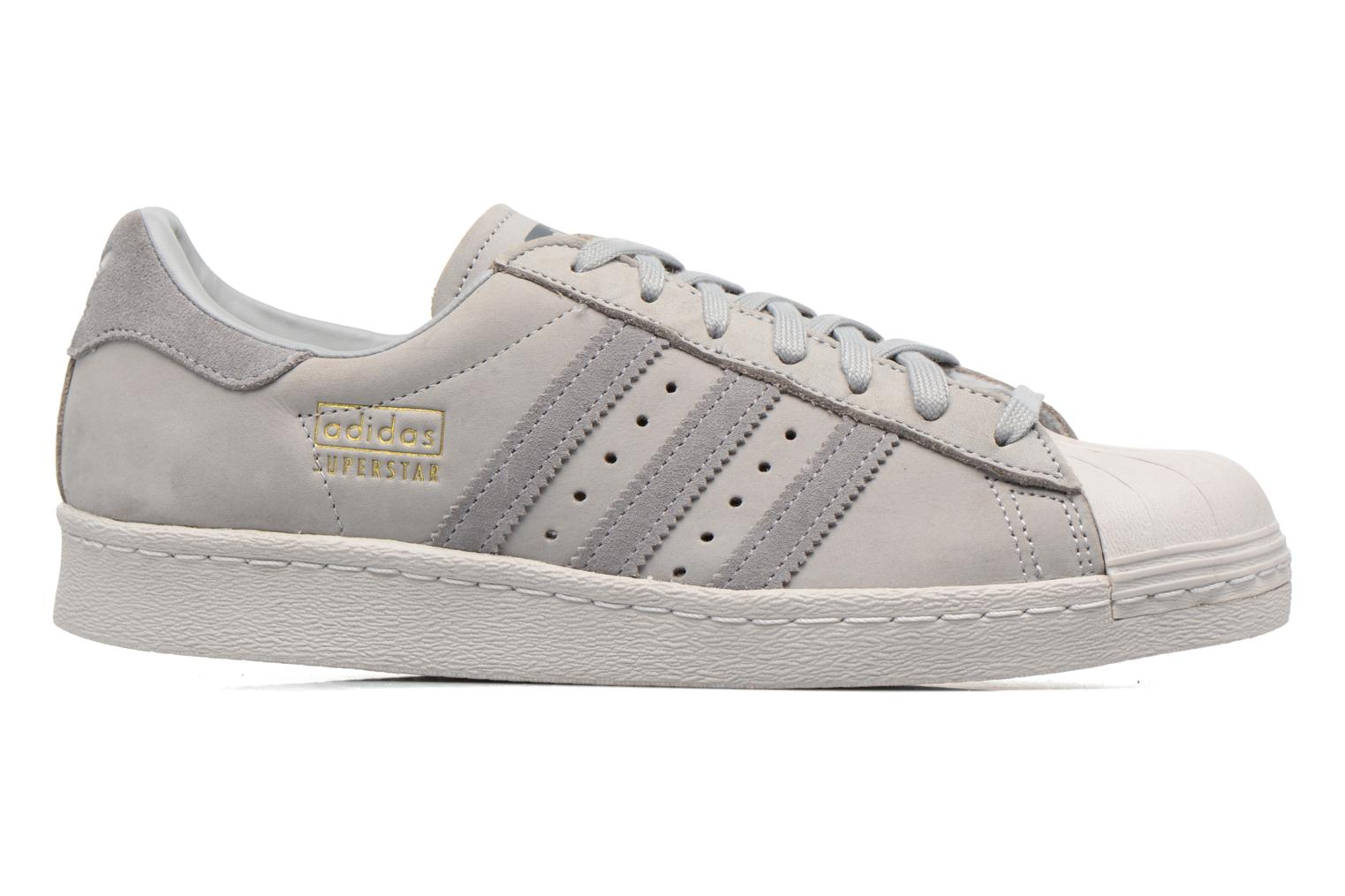 Baskets Adidas Originals Superstar 80S Gris vue derrière