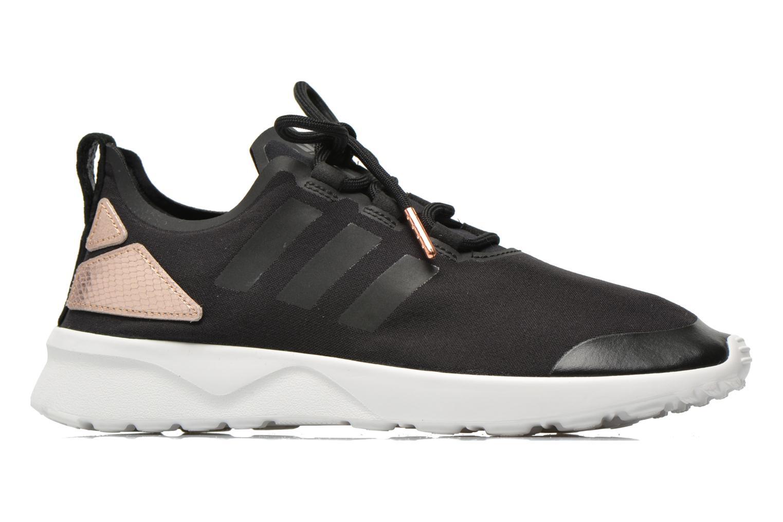 Trainers Adidas Originals Zx Flux Adv Verve W Black back view