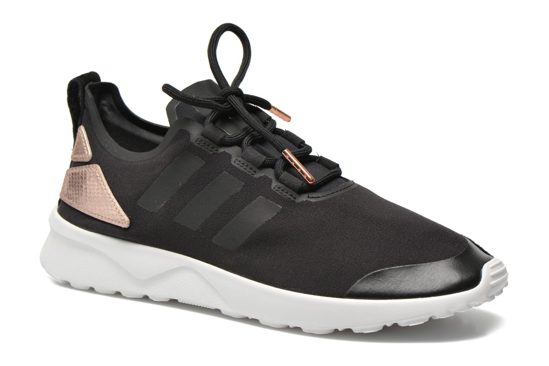 Trainers Adidas Originals Zx Flux Adv Verve W Black detailed view/ Pair view