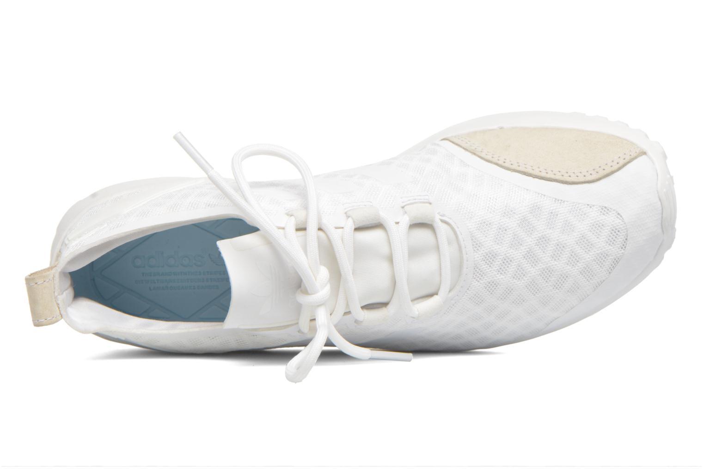 Deportivas Adidas Originals Zx Flux Adv Verve W Blanco vista lateral izquierda