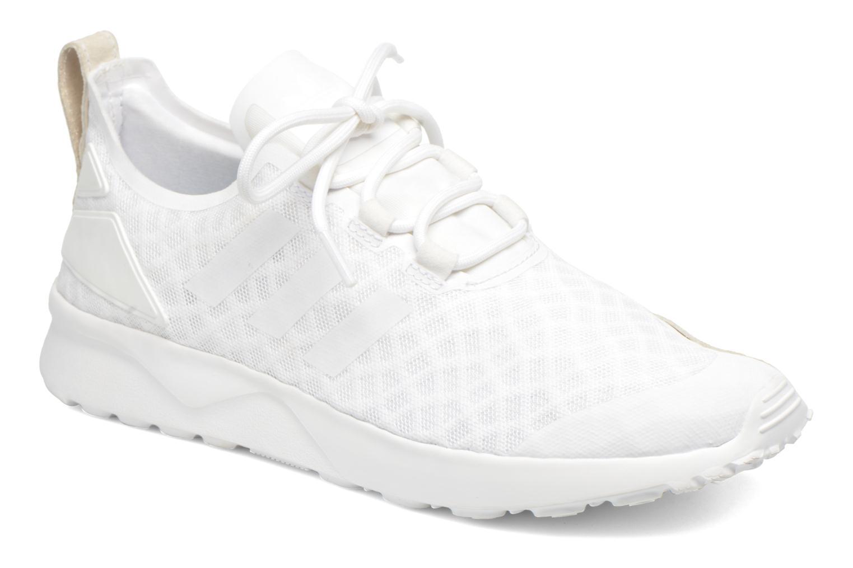 Deportivas Adidas Originals Zx Flux Adv Verve W Blanco vista de detalle / par