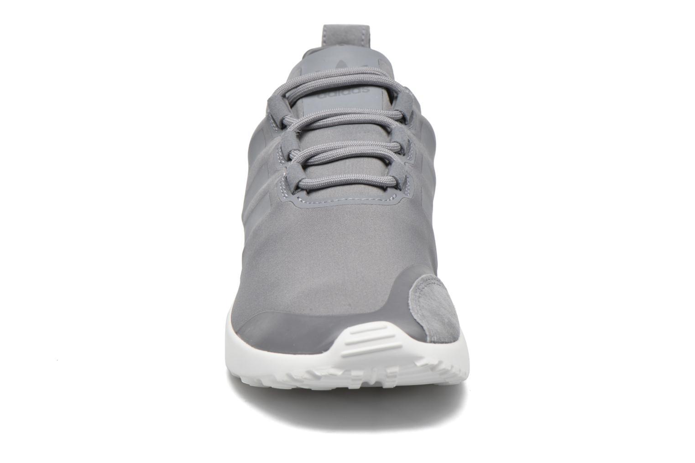 Baskets Adidas Originals Zx Flux Adv Verve W Gris vue portées chaussures