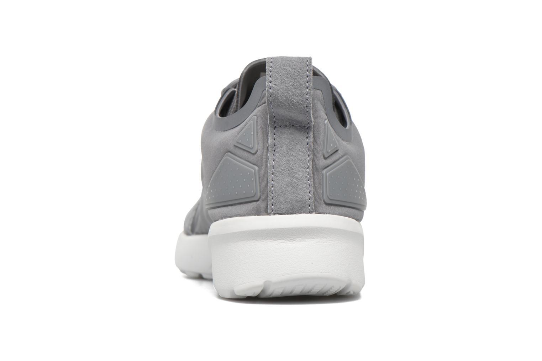 Baskets Adidas Originals Zx Flux Adv Verve W Gris vue droite