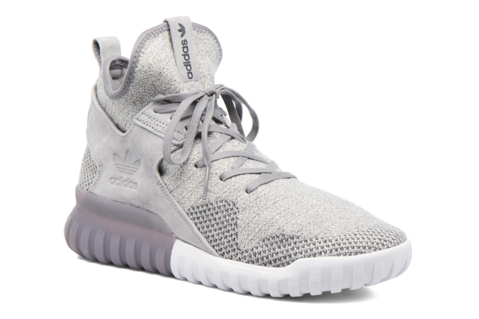 Baskets Adidas Originals Tubular X Pk Gris vue détail/paire