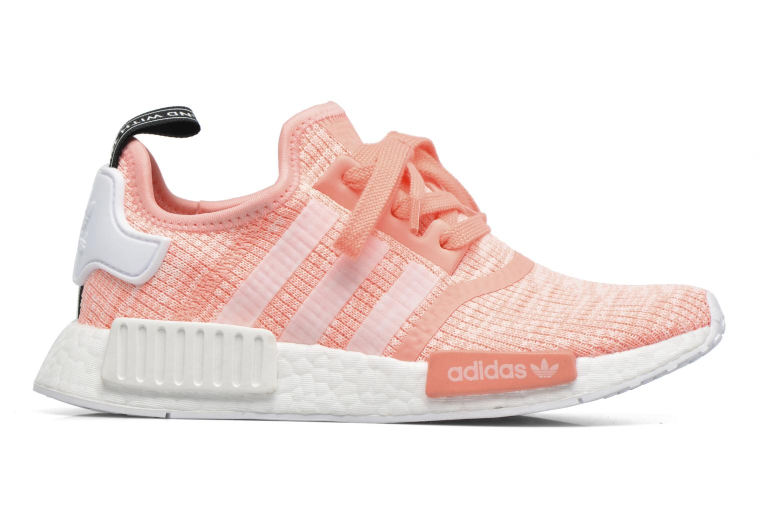 Baskets Adidas Originals Nmd_R1 W Orange vue derrière