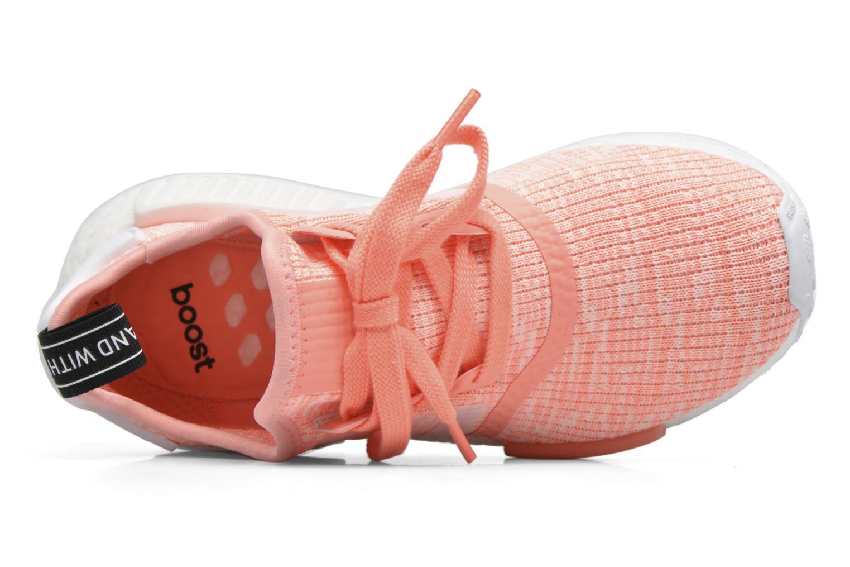 Sneaker Adidas Originals Nmd_R1 W orange ansicht von links