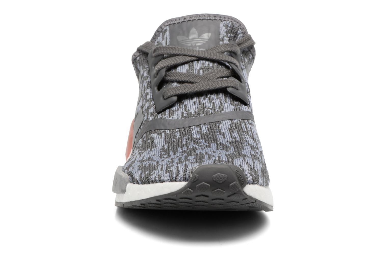 Baskets Adidas Originals Nmd_R1 W Gris vue portées chaussures