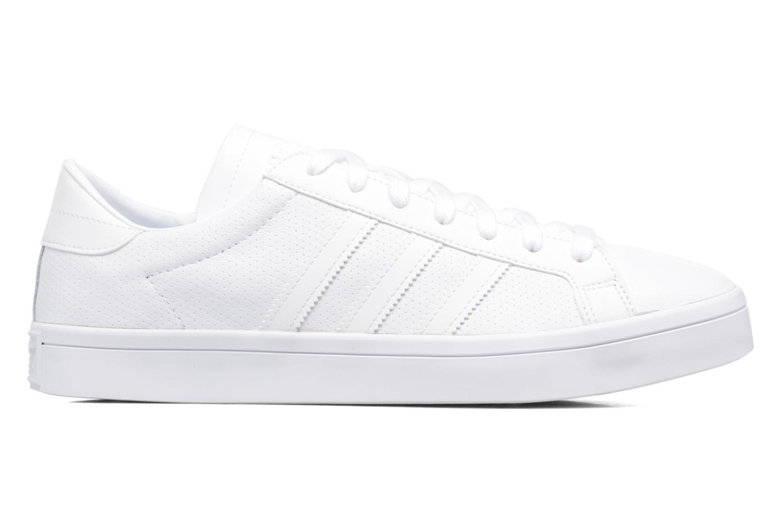 Sneaker Adidas Originals Court Vantage H weiß ansicht von hinten