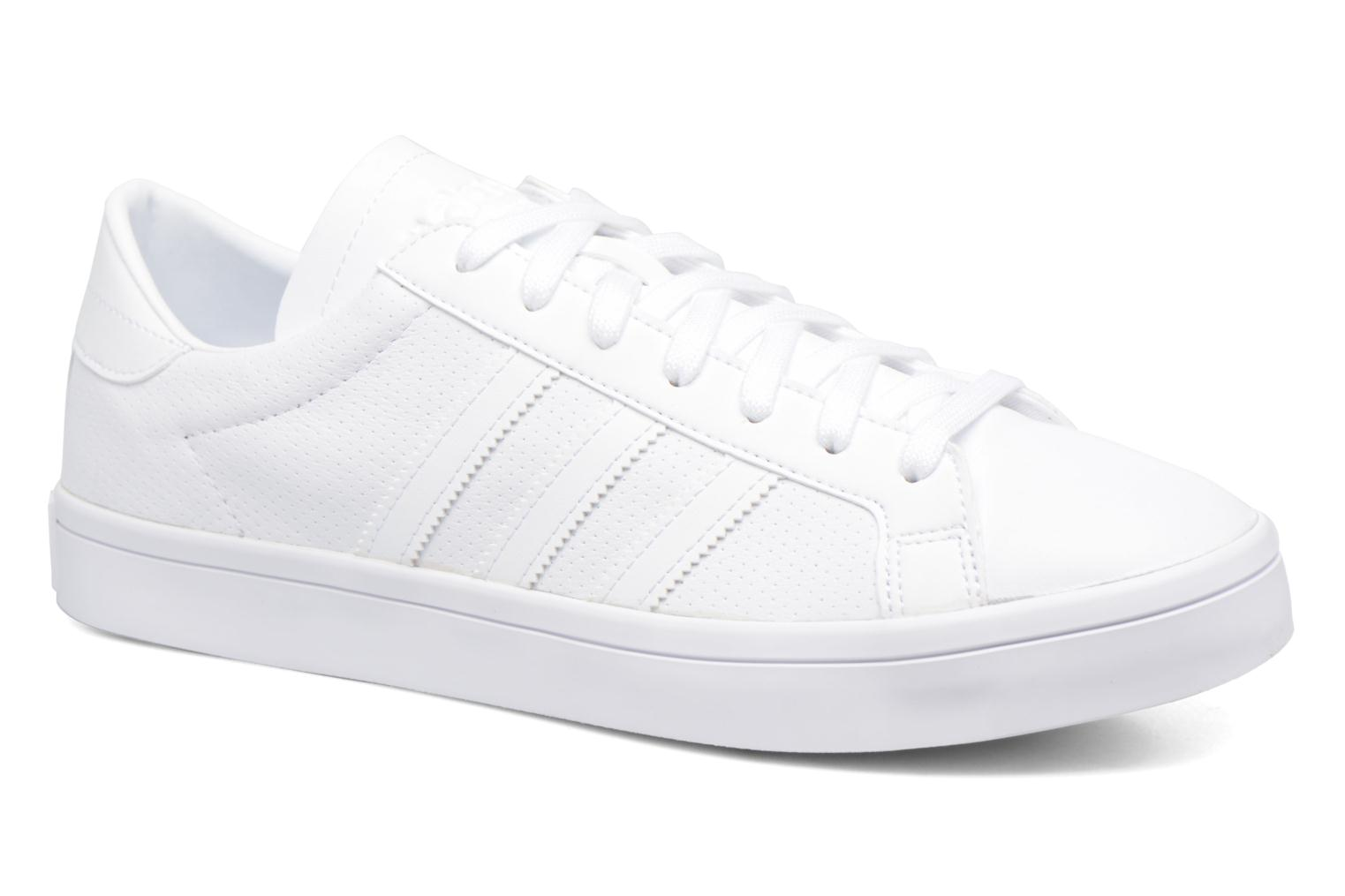 Baskets Adidas Originals Court Vantage H Blanc vue détail/paire