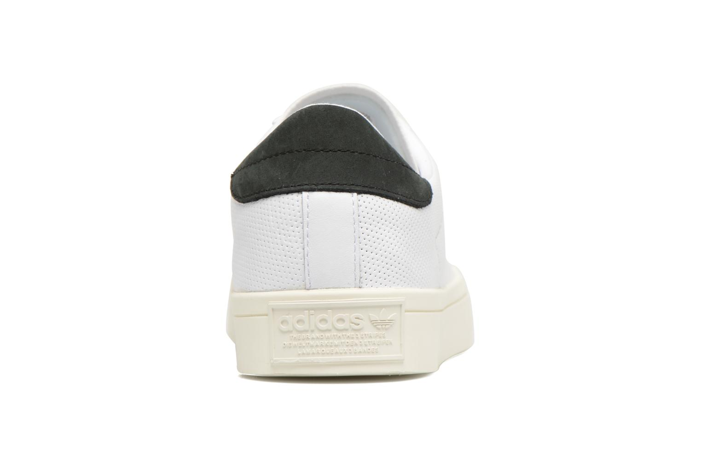 Baskets Adidas Originals Court Vantage H Blanc vue droite