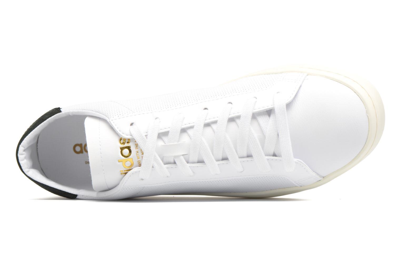 Baskets Adidas Originals Court Vantage H Blanc vue gauche