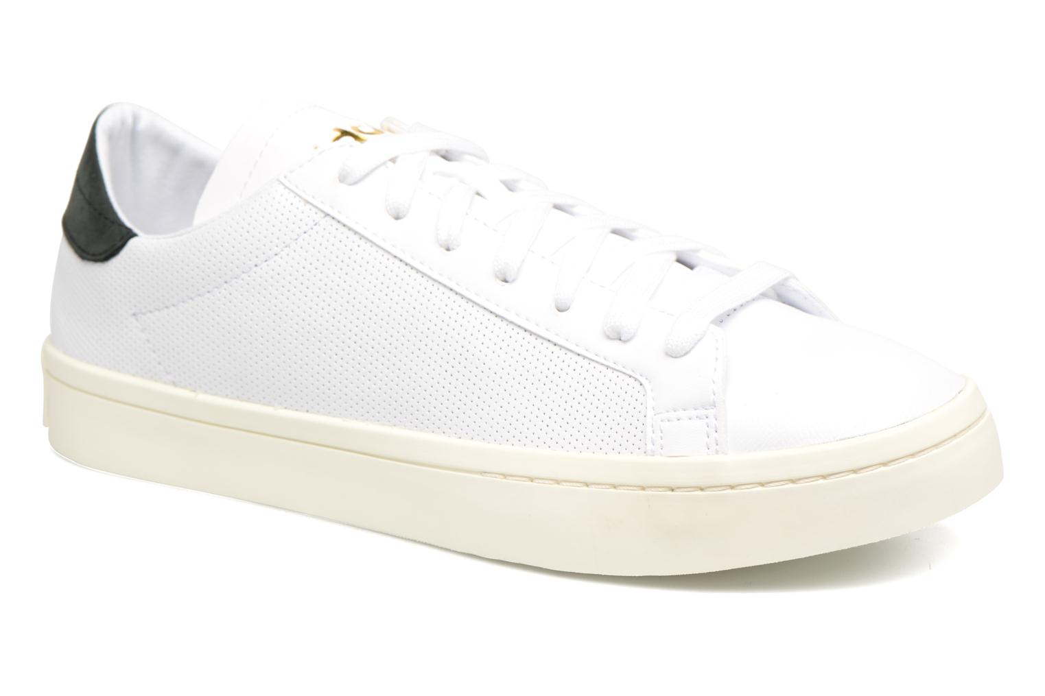 Trainers Adidas Originals Court Vantage H White detailed view/ Pair view