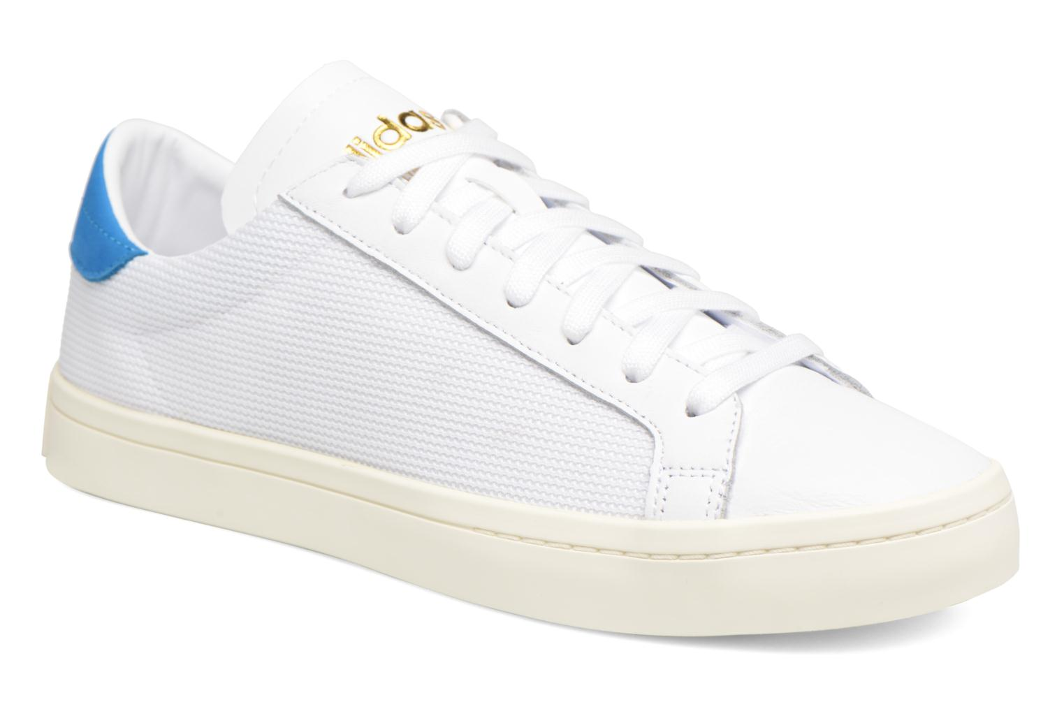 Adidas Originals Court Vantage H (Blanc) - Baskets chez Sarenza (323129)