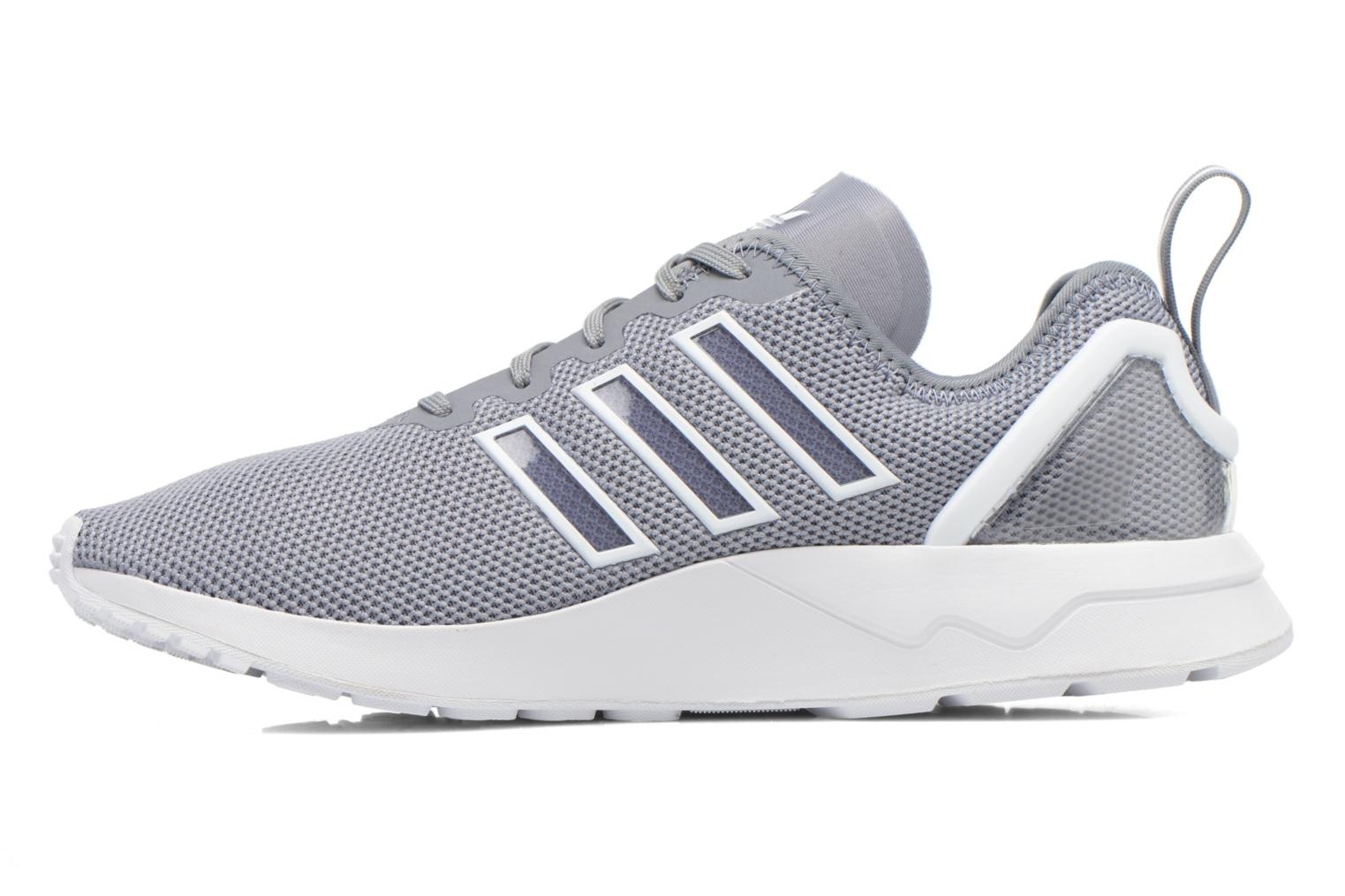 Trainers Adidas Originals Zx Flux Adv Grey front view