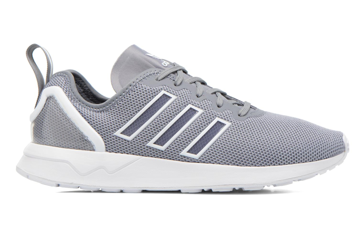 Trainers Adidas Originals Zx Flux Adv Grey back view