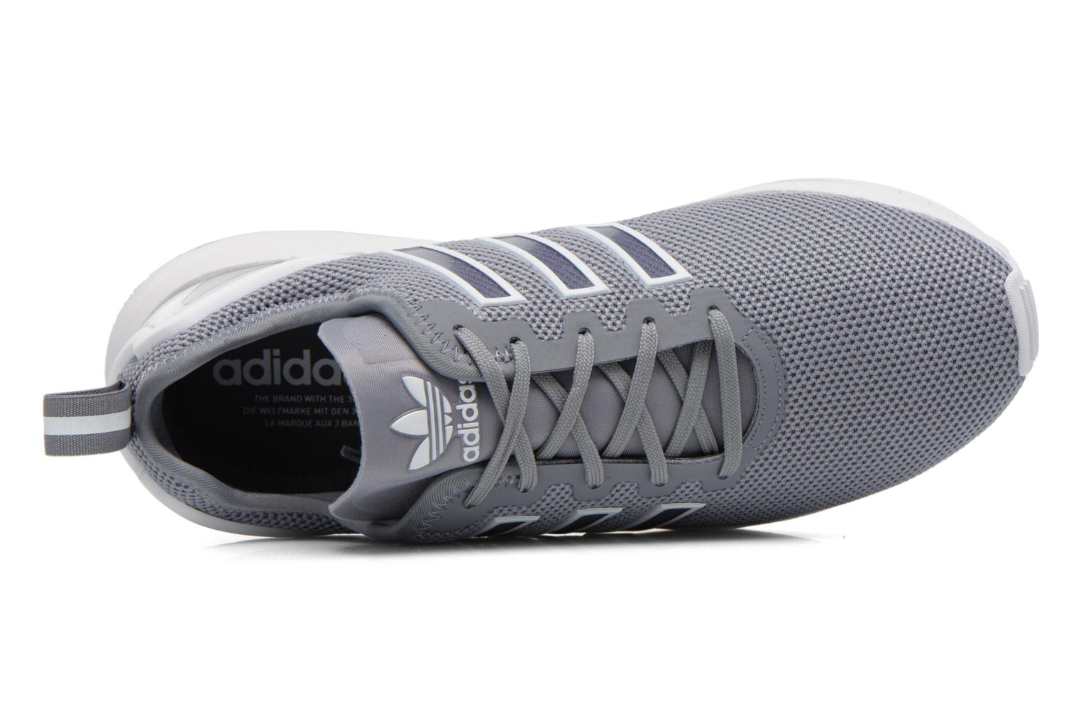 Trainers Adidas Originals Zx Flux Adv Grey view from the left